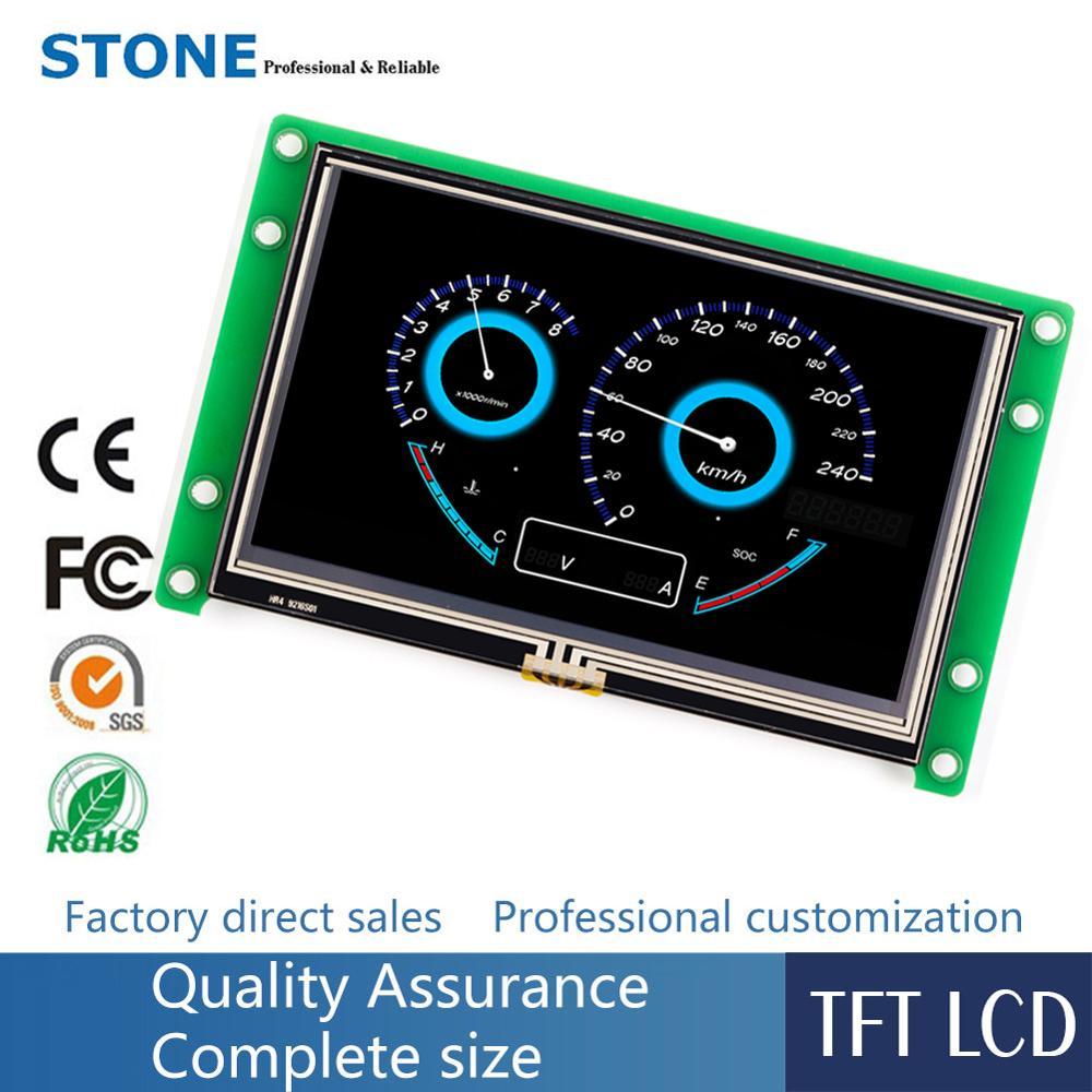 Pannello di tocco di 4.3 pollici TFT Modulo LCD con Scheda di Controllo di Programma + per Sistemi embeddedPannello di tocco di 4.3 pollici TFT Modulo LCD con Scheda di Controllo di Programma + per Sistemi embedded