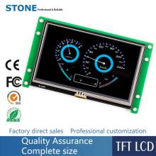 Touch Panel 4.3 inch TFT LCD Module with Controller Board + Program for Embedded System цена