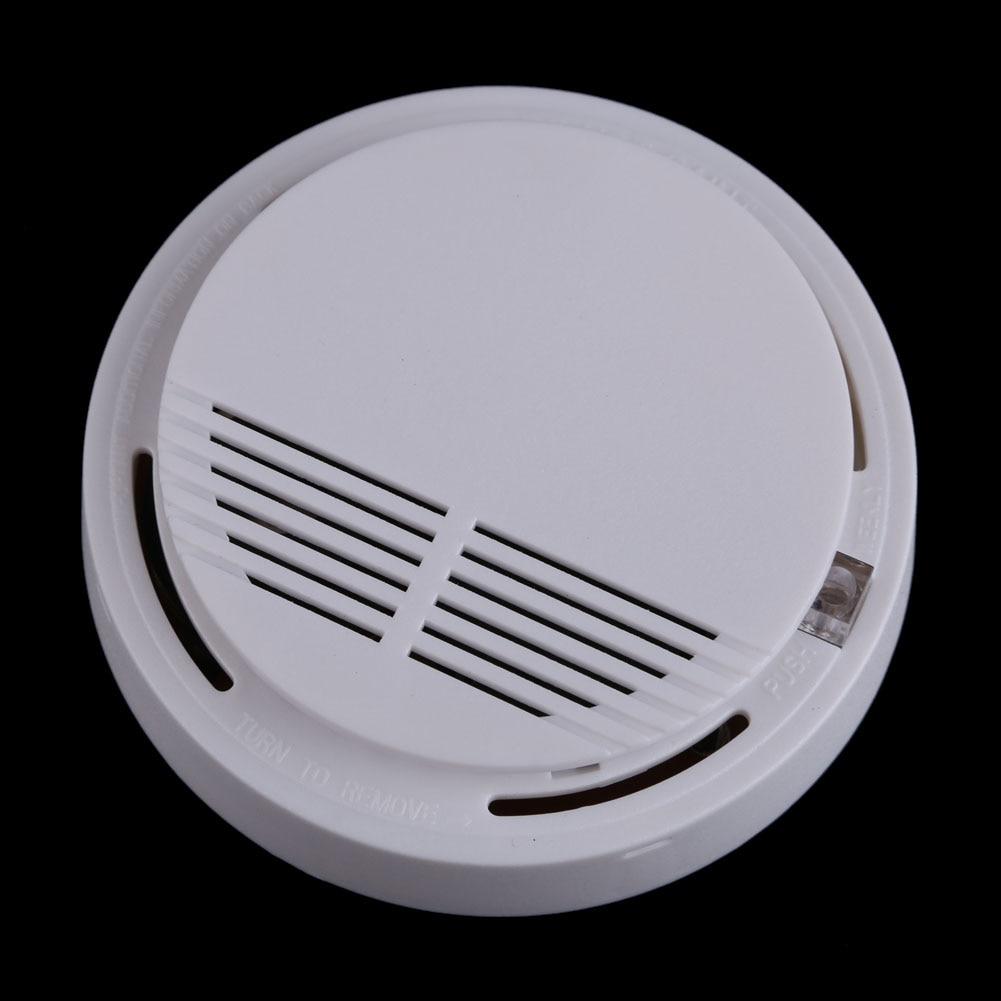 High Sensitive Photoelectric Wireless Smoke Fire Detector Alarm System Home Security Safety Garden Smokehouse Alarm Detector