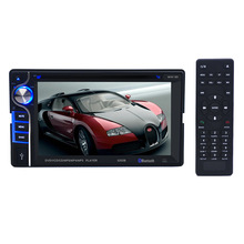 "2 Din 6.2"" Car DVD Player Digital Bluetooth DVD Multimedia Player support USB AUX SD CD Drive Handfree Call Stereo FM Radio"