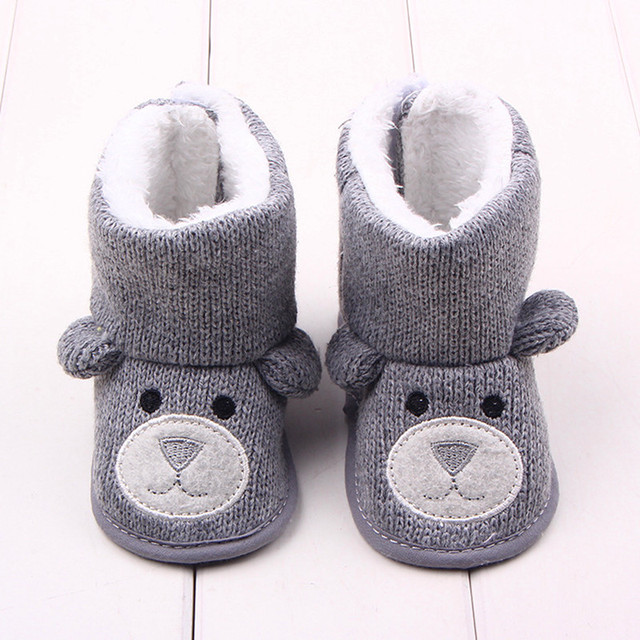 Baby Boy Shoes First Walkers 0-1 Years Olds Lovely Baby Shoes Boys Knitted Sweater Baby Boots Girls Toddler Shoes YEW336