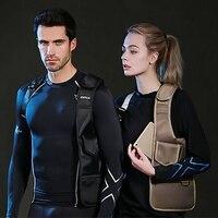 NewBring Summer Black Single Shoulder Bags For Women Men Waterproof Nylon Crossbody Bags Male Messenger Bag