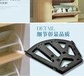 Girando marco oculto gabinete bisagra tres zapato capa de zapatos zapatero colgajo de bisagra todas las partes metálicas de hierro
