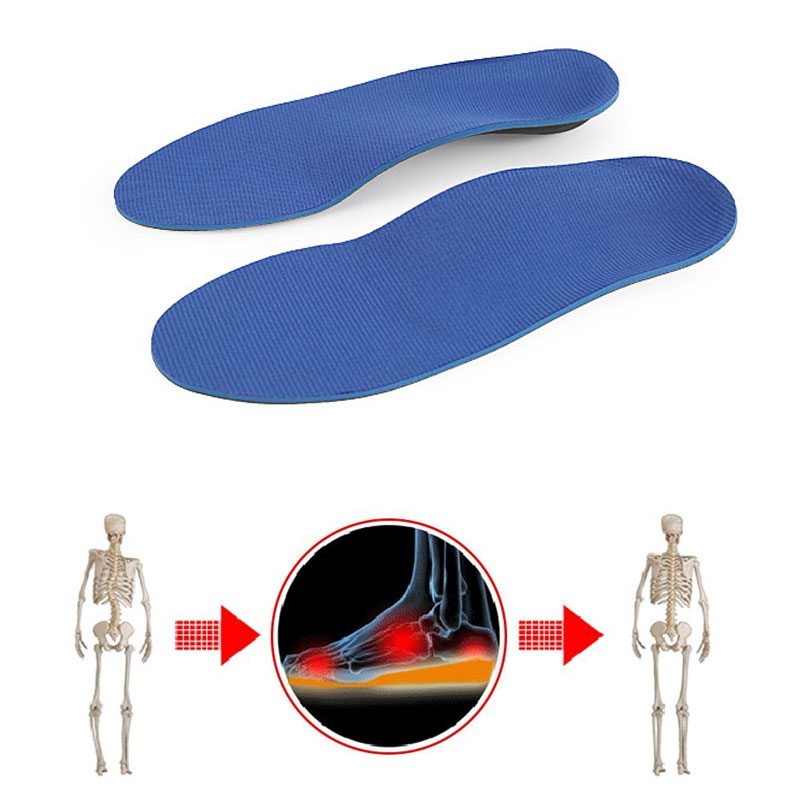 Tcare Orthopedic Insoles Doctors recommend Best Material EVA Orthotic Insole Flat Feet Arch Support Orthopedic shoes pad
