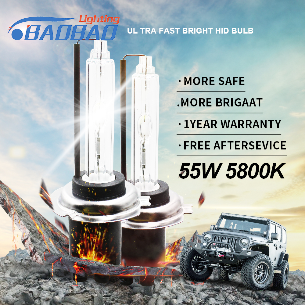 BAOBAO 35W 55W Ultra CANBUS Fast bright Car HID headlight kit Top quality full digital car styling H1 H3 H4 H7 H11 9005 9006 D2H in Car Headlight Bulbs LED from Automobiles Motorcycles