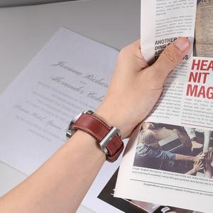 Image 4 - CHIMAERA Accessori Per Orologi Cinturino di Vigilanza 22 millimetri 24 millimetri Vintage In Pelle di Mucca Watch Band Per Fossil Cinturino