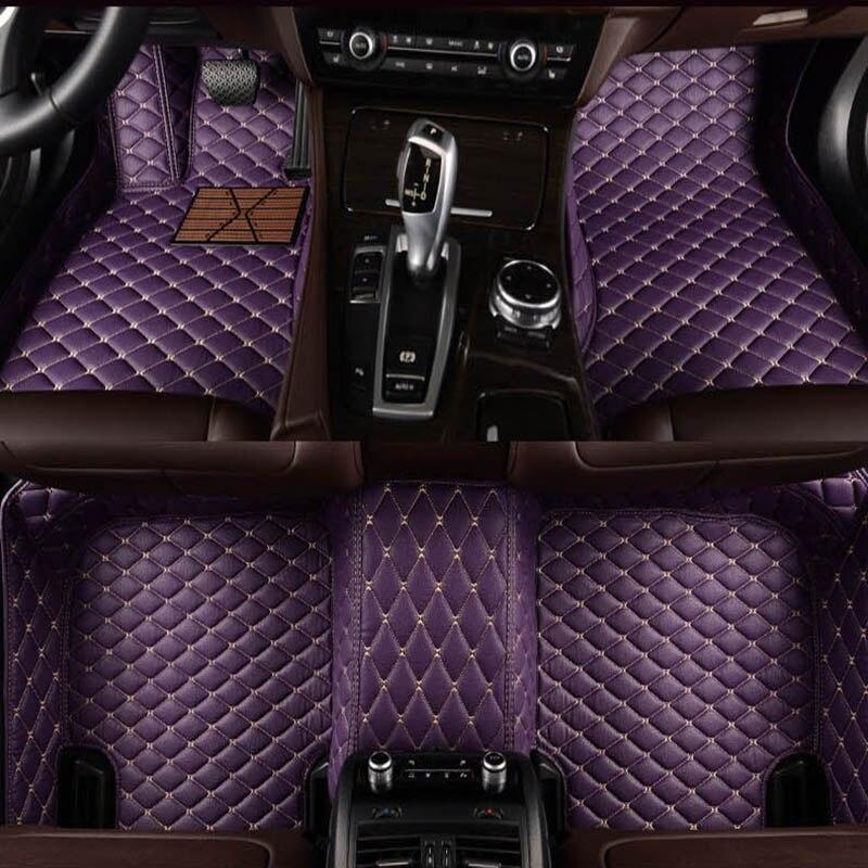 Mats për dysheme të automjeteve për Volkswagen vw polo passat b5 6 - Aksesorë të brendshëm të makinave - Foto 3