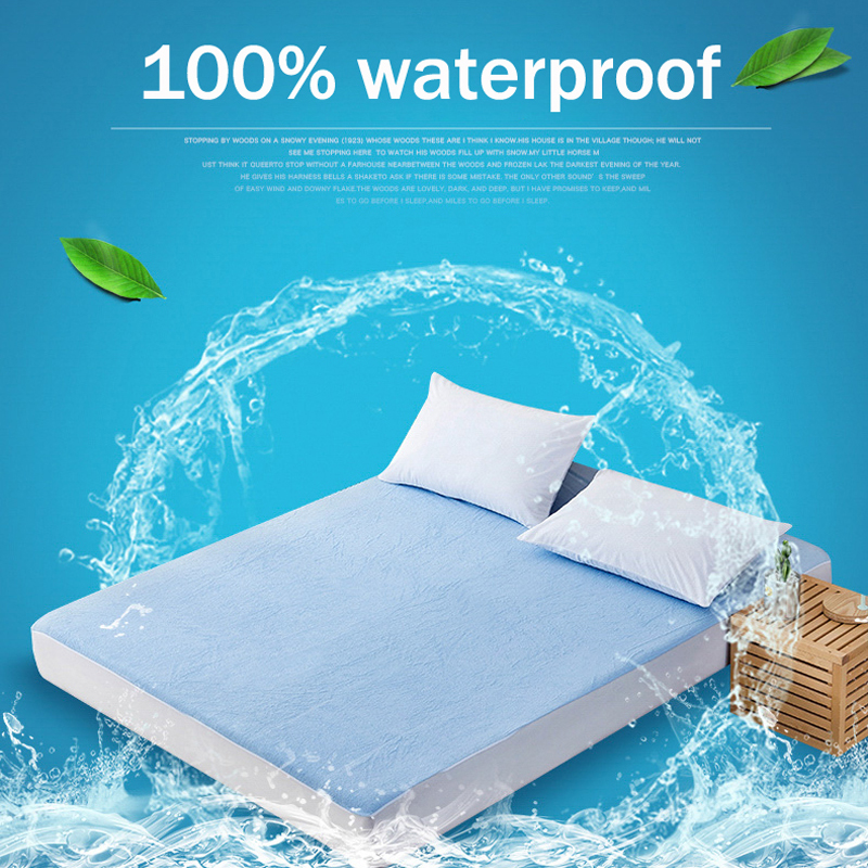 Cotton Matress Cover Waterproof Mattress Slipcovers Fitted Bed Sheet Bed Cover Terry Cloth Cotton Sheets For Bed Namatrasnik