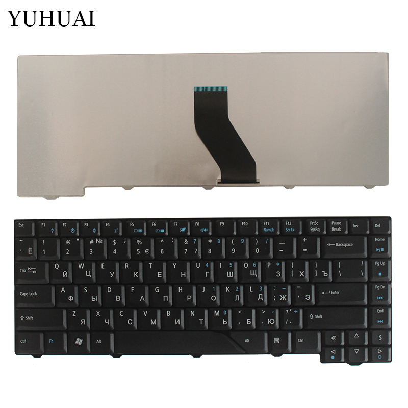 Russian Keyboard for Acer Aspire 5315 6920 MS2220 5312 4730 4730Z ZO1 1641 5930G 4520G 4510 6920G 6935G 4930G 6935 7300 RU Black