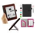 Принципиально Откидная крышка для 2014 Kindle Voyage Smart Case Защитный с Подставкой/Автоматический Таймер Сна для Amazon Kindle Voyage 2014 leather case