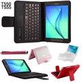 Высокое качество, модные Bluetooth крышка аргументы За клавиатуры Samsung Tab 9.7 T550 T555/Tab S 9.7 T815 T810 Bluetooth Клавиатура случае