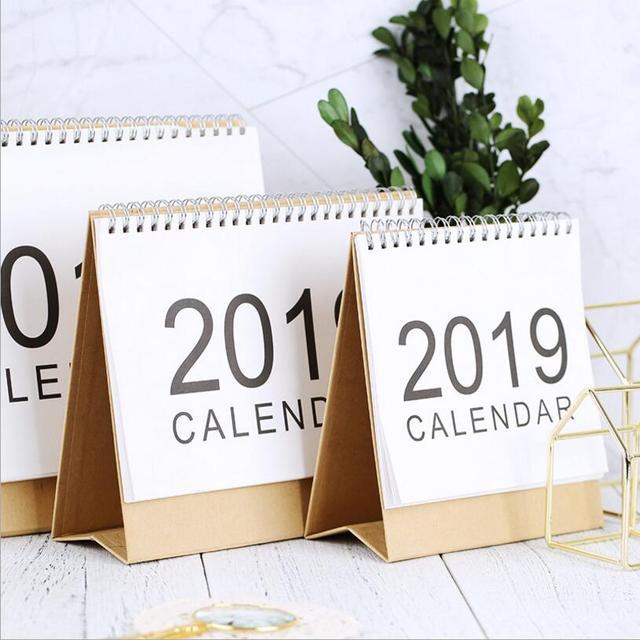2018 2019 time planner largetable calendar basic coil spiral muji