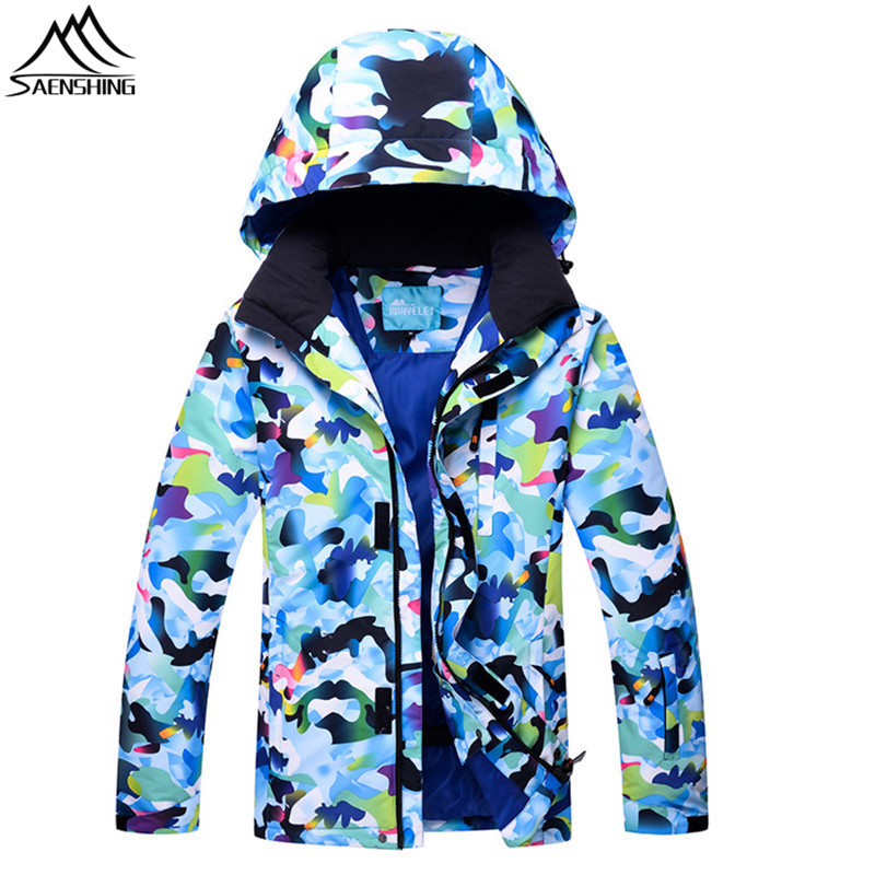 SAENSHING camouflage Snow Jacket Men Winter Ski Jacket Snowboard Coat Waterproof Warm skiing and snowboarding Suit Plue size 3XL men and women winter ski snowboarding climbing hiking trekking windproof waterproof warm hooded jacket coat outwear s m l xl