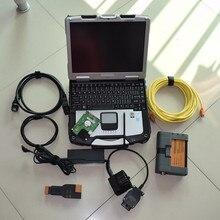 Для bmw ICOM A2 b c с ноутбуком cf30 программное обеспечение 500gb hdd ista expert mode диагностический инструмент для bmw obd кабель готов к использованию