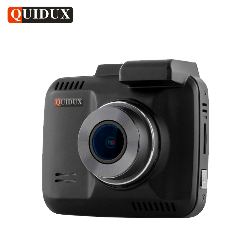 QUIDUX 4K Resolution Super HD Car DVR 2160P Video Recorder Novatek 96660 GPS Logger Camcorder 1080P