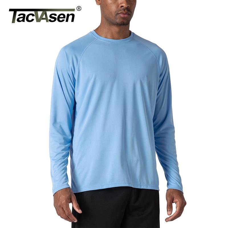 TACVASEN Men's UPF 50+ Long Sleeve Hiking Fish T-shirts  2