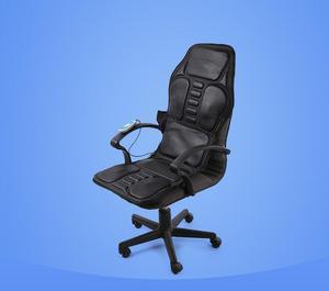 Image 5 - Auto Hause Büro Voller Körper Massage Kissen. wärme Vibrieren Matratze. Nacken Massage Stuhl Massage Entspannung Auto Sitz 12V