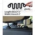 Nuevo Multifuncional Coche s-type Serpentina Onda Holder Gancho de La Suspensión Suspensión de Asiento de Diseño Oculto Para Bolsas de Abrigo Accesorios de Automóviles