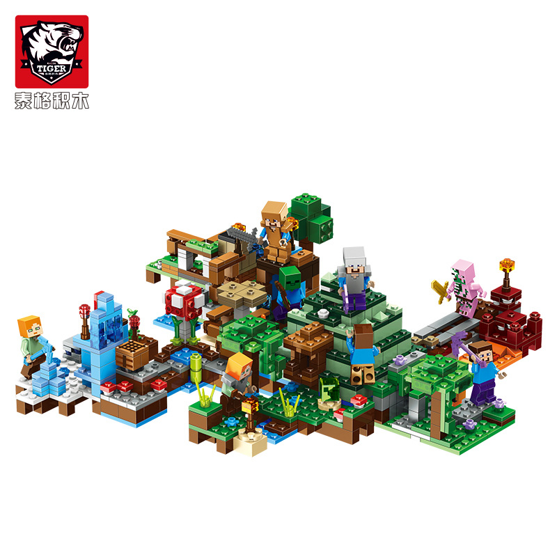 Lepin pogo Blocks Sword Espada Models Figures Building Blocks Model Set Figures Compatible legoe Minecraft Toys Gifts For Kids new 4pcs set minecraft sword espada models figures my world building blocks model set figures compatible toys for kids