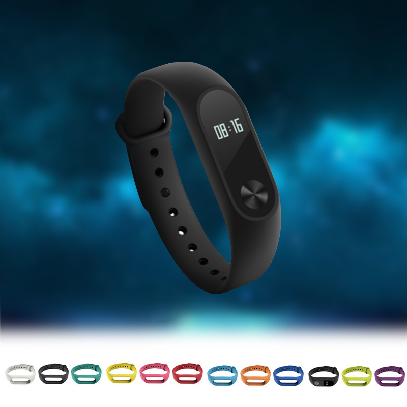11 Colors Silicone Replace Wrist band Belt for Original Mi 2 Smart Band Silicone Replacement Strap for Xiaomi Mi2 Smart Bracelet цены онлайн