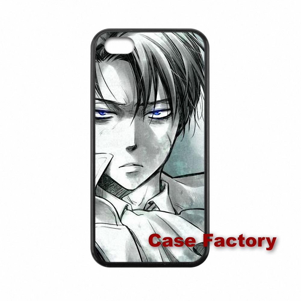 Hard PC Skin accessories Attack on Titan Levi.Ackerman For Xiaomi Mi3 Mi4 Redmi Note 2 Samsung A3 A5 A8 J2 J3 S3 S4 S5 mini