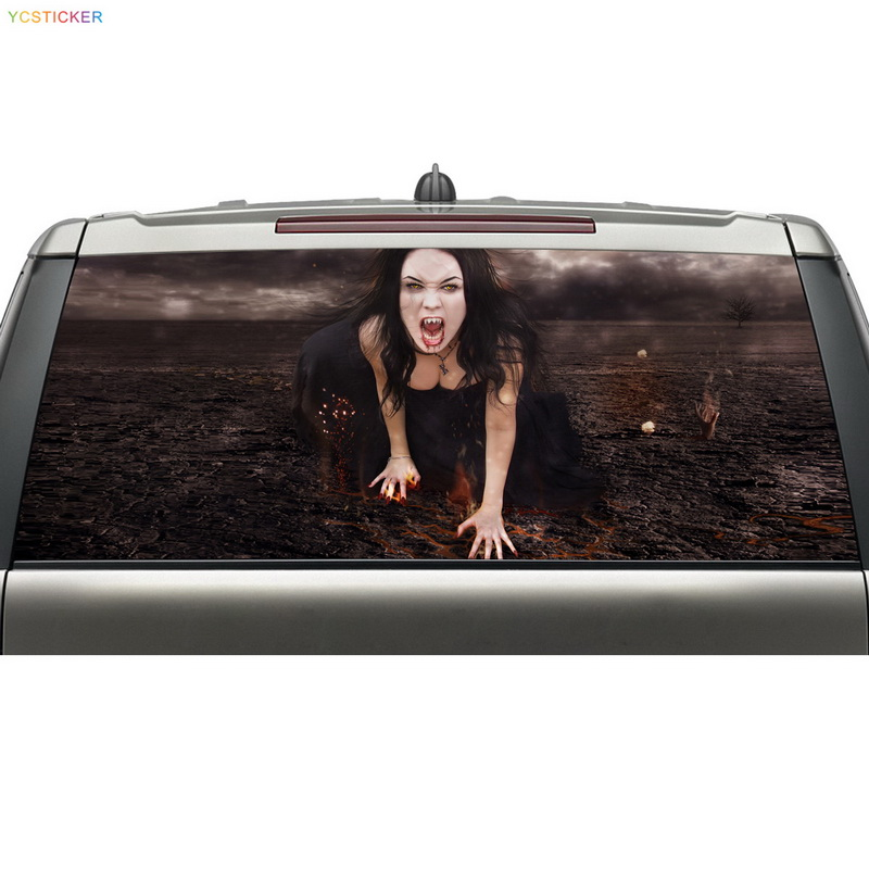 Best Selling Products Rear Window Graphic Decal Reusable