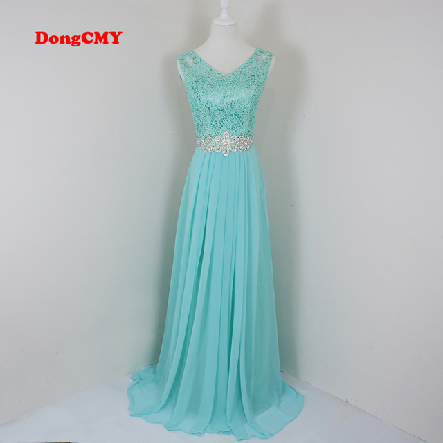 Dongcmy New 2018 Fashion Formal Long Design Elegant Party Vestido