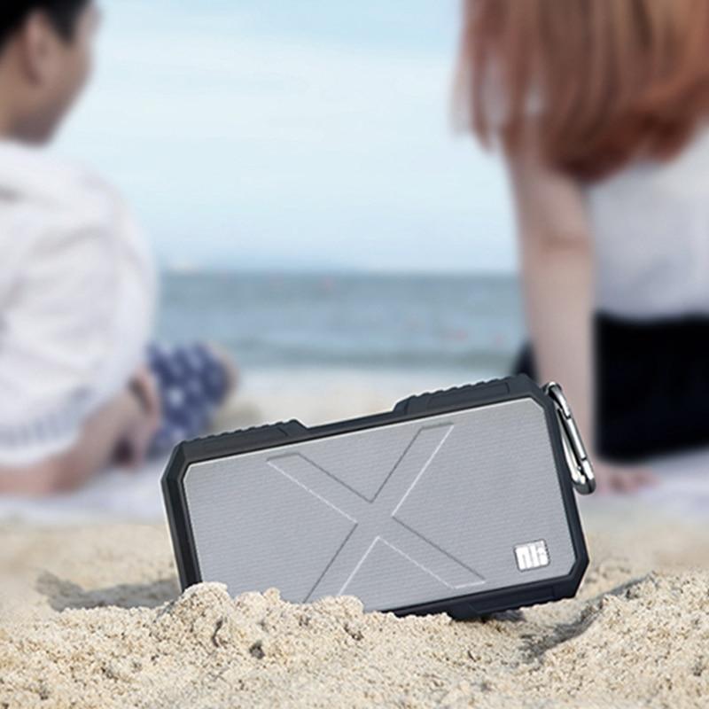 Nillkin Batterie Chargeur Bluetooth Haut-Parleur Portable Étanche Haut-parleurs Extérieurs Puissance Banque pour iPhone Xiaomi IOS Musique Haut-Parleur