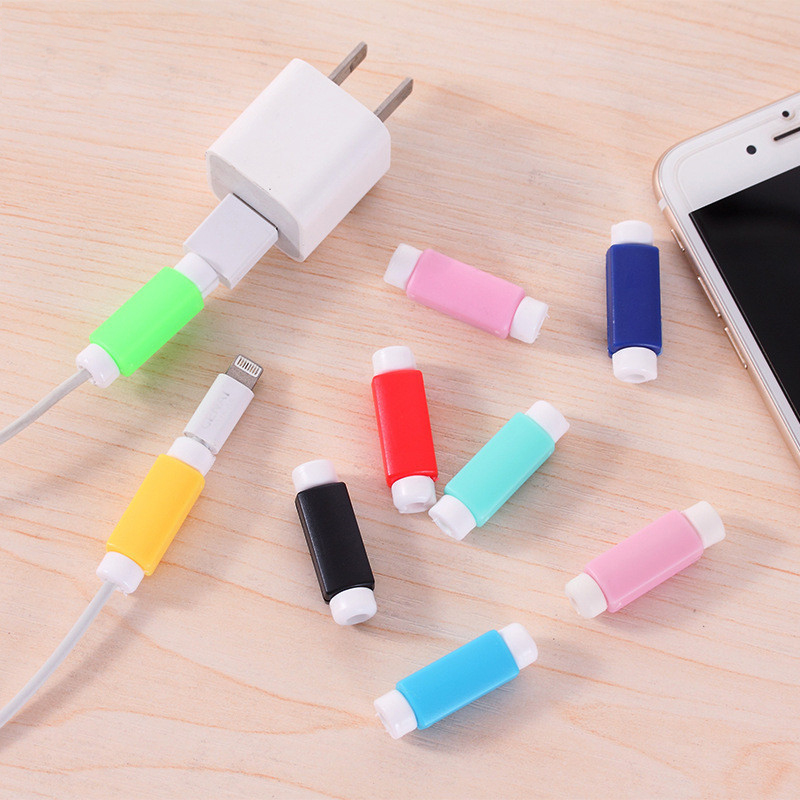 Cable-Winder-Cover Cord-Protector Protective-Case Usb-Charging-Cable Data-Line for Colors