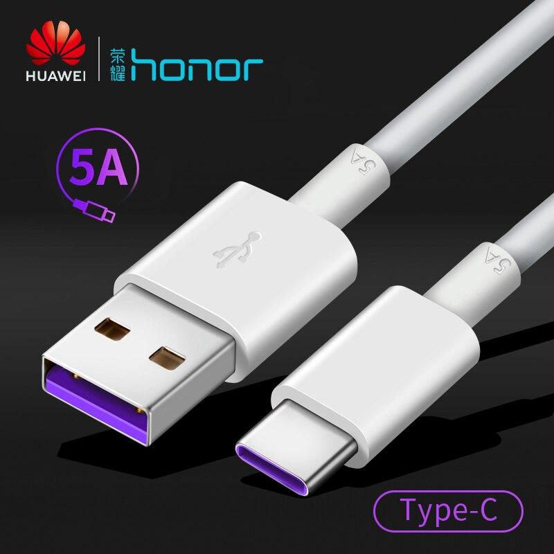 Huawei originais telefone USB cabo de carregamento rápido 5A Tipo-C cabos de dados de alta velocidade para samsung huawei Companheiro 20 p20 P30 Pró Honra AP71