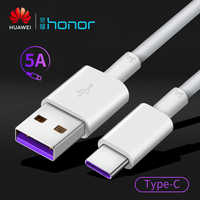 Original Huawei USB cable fast charging phone 5A Type-C high speed data cables for samsung Huawei Mate 20 P20 P30 Pro Honor AP71