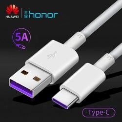 Original huawei usb cabo de carregamento rápido telefone 5a tipo-c cabos de dados de alta velocidade para samsung huawei companheiro 20 p20 p30 pro honra ap71