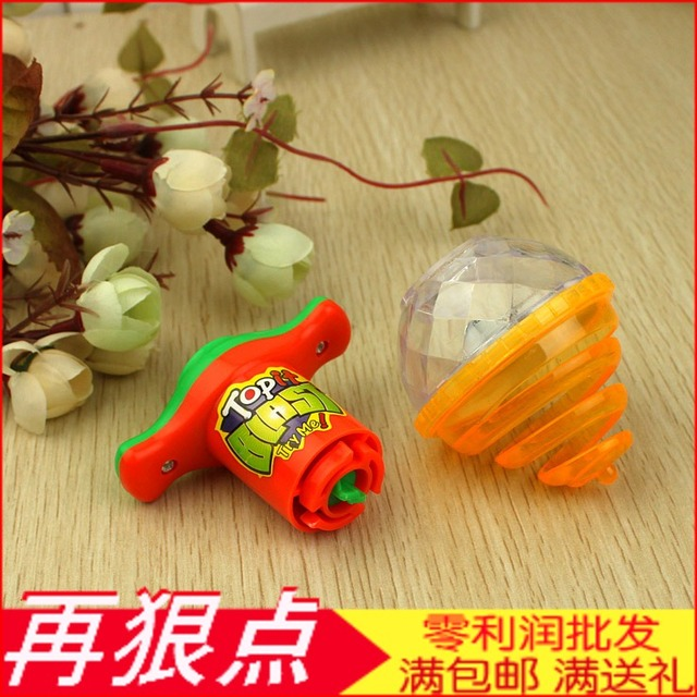 Luminous spinning top yiwu commodity baihuo small gift