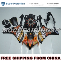 SUNFLOWER COLOR ABS Plastic Injection Mold Fairing For Honda CBR1000RR 2008 2011 Kit REPSOL