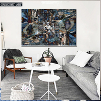 2016 Hot Sale Modern Abstract Art Poster Abstract Wall Picture Canvas Print Photo Large Home Decor