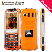 English Russian Keyboard VKworld Stone V3S 2 4 inch Waterproof Shockproof Dustproof Mobile phone Dual LED