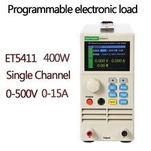 ET5411 Programmable Professional Battery Tester DC Electronic Load Battery Capacity Tester 400W 500V15A RS485/232 High Precision electronic load 0 10a 100w dc 12v discharge battery capacity tester testing module dc electronic load digital battery tester