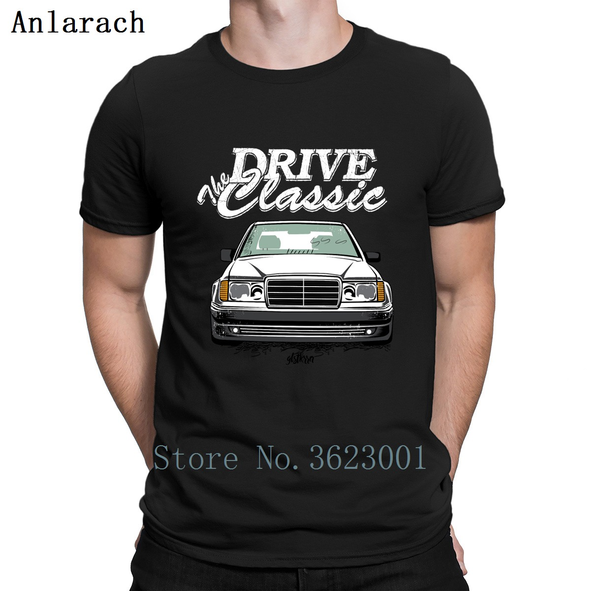 W124 T Shirt Funny Casual Interesting Trendy Leisure Custom Tshirt Cotton Customize Homme Sunlight