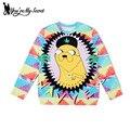 [You're My Secret] New European NEW Women Sweatshirt Digital printed Adventure time hoodies Tops WJW1041