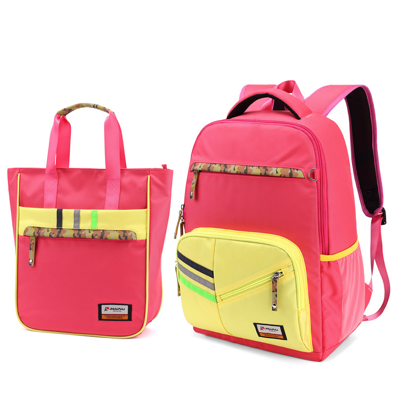Kids Backpack Shoulder Bags Orthopedic Backpack Schoolbag For Boys Girls Primary School Students Fashion Bags 2016 time limited sale school bags orthopedic backpack kids elementary schoolbag children ergonomic primary nylon boy backpacks