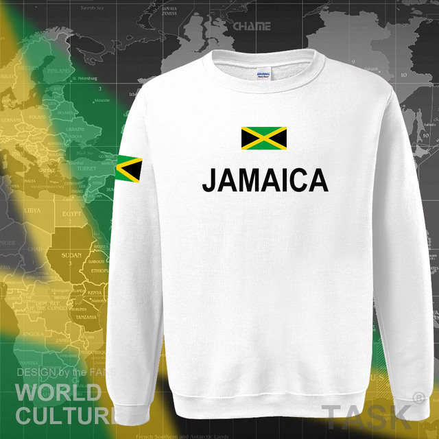 Jamaica hoodie men sweatshirt sweat new hip hop streetwear tracksuit nation footballer sporting country new flag JAM Jamaican 4