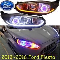 2013 2014 2015year Fiest Headlight HID LED Free Ship Fiest Fog Light Edge Transit Explorer Topaz