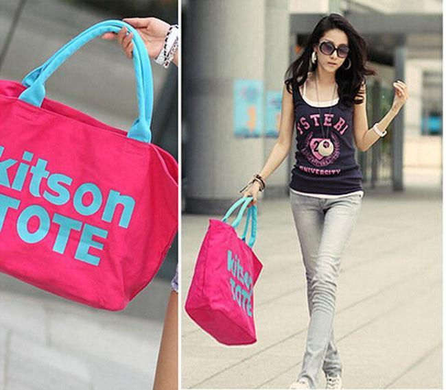 Aliexpress.com : Buy Women's kitson tote Print Stamp womens ...