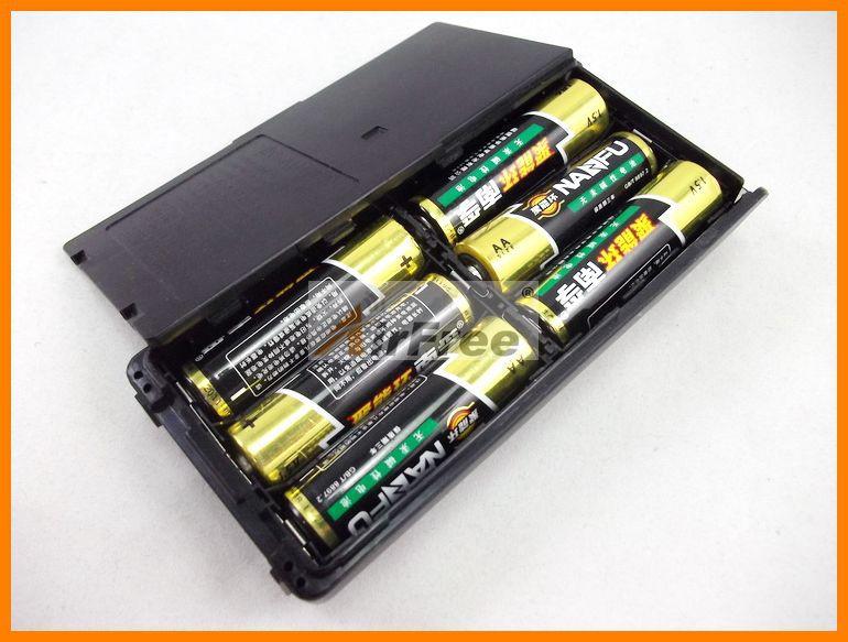 Battery Case BP-208 for Icom IC-V8 IC-V82 IC-U82 IC-A24 IC-A6 IC-T3H IC-F3GT IC-F3GS IC-F4GT IC-F4GS IC-F11 IC-F21 AA size