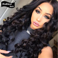 Бразильский полный человеческих волос парики для чернокожих женщин глубокая волна Glueless полные кружева парики-девы волна воды фронта парик детские волосы