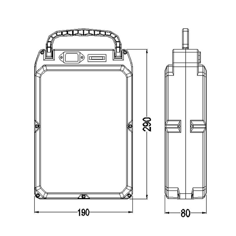 E-bike boîtier de batterie au Lithium pour 18650 batterie comprend un support et le nickel peut être placé 104 pièces cellules - 6