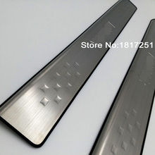 Door Sill Scuff Plate Welcome Pedal Stainless Steel for Ford Ranger T6 2017 2012 2016 Car Styling Accessories
