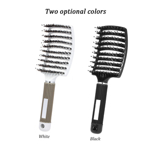 Image 4 - Abody hair brush Massage Comb Nylon Hairbrush Women Wet Curly Detangle Hair Brush Massager For Salon Household Styling Tools