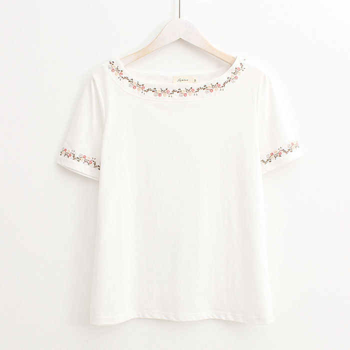 2018 New T Shirt Women New t-shirts women 2018 tshirts cotton women O Neck Short Sleeve