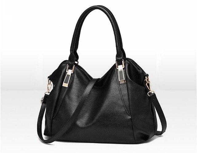 325cd8f06e Free shipping Wholesale Women Handbags New Women PU Leather Handbags  Fashionable Joker Women Shoulder Messenger Bags